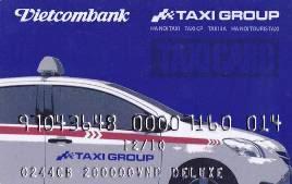Đặt mua thẻ Taxi Group