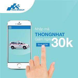 Taxi Group App tặng 5000 mã khuyến mãi nhân dịp Tết Độc Lập & Quốc Tế Lao Động