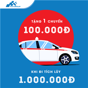 ĐI TÍCH LŨY, NHẬN NGAY CHUYẾN ĐI MIỄN PHÍ LỚN NHẤT TRỊ GIÁ 100.000Đ