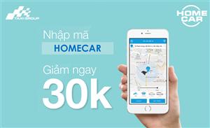 TẶNG NGAY 30.000Đ NHÂN DỊP RA MẮT DỊCH VỤ MỚI HOME CAR