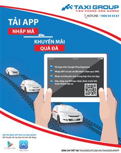Tặng 50.000đ cho Khách hàng tải Taxi Group App
