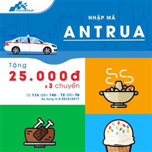 """MÃ """"ANTRUA"""" ĐÃ TRỞ LẠI – NHẬN NGAY 3 CHUYẾN ĐI MIỄN PHÍ"""